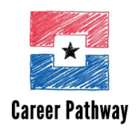 Binder contains documents, statistics and information about Career Pathway Programs and former Tech Prep Programs