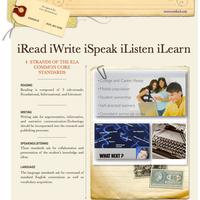 iRead,  iWrite, iSpeak, iListen, iLearn - Grades K-5