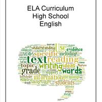 ELA High School Curriculum Binder