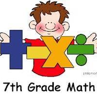 Audra's Math 7 Stuff!