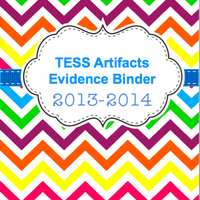 Copy of TESS Artifacts Evidence Binder