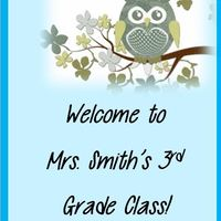 Mrs. Smith's 3rd Grade Class