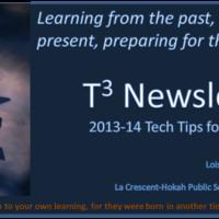 T3 Newsletter 2013-14