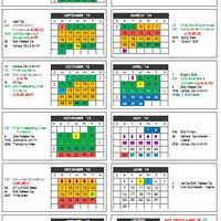CISD High School Pacing Calendars