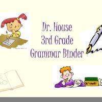 Third Grade Grammar