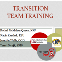 SST-9 Transition Team Training