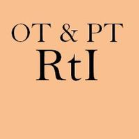 OT PT RtI Resources