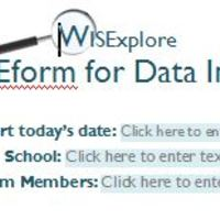 WISExplore Forms and Templates