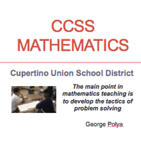 CCSS Mathematics for Parents