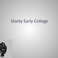 Stanly Early College NCGP Template