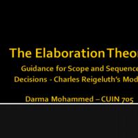 Elaboration Theory