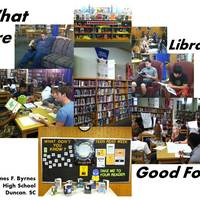 This LiveBinder is designed for service learners in a high school library as a culminating project.