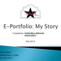 Hollie Mae Albrecht's  E-Portfolio