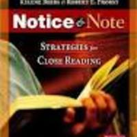 Notice & Note - Strategies for Close Reading