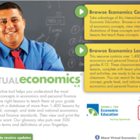 Virtual Economics for Teachers with 
