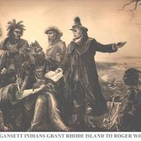 Roger Williams visits the Narragansett Indians