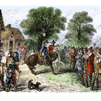 Native American Attack on the English