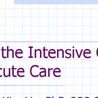 AAC and Acute/Intensive Medical Settings