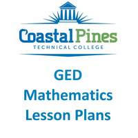 Coastal Pines Tech GED Math Lesson Plans