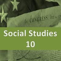 Corner High Social Studies 10