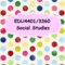 ELE4401/3360 Social Studies