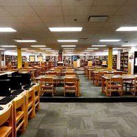 Dobie Jr. High Library