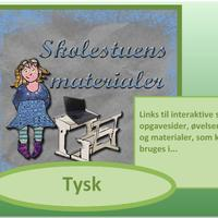 Gratis materialer og links til Tysk-timerne