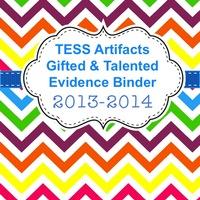 Arkansas TESS Gifted Coordinator Artifact Binder