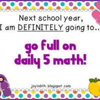 Math Daily 5