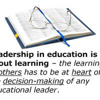 Educational Leadership and Technology -- Spring, 2014