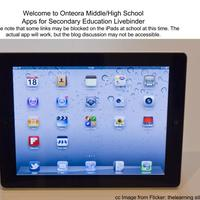 iPads for Secondary Education