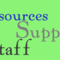Support Staff Resources