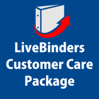 Everything a customer will need to be successful with LiveBinders