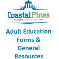 Coastal Pines Tech Adult Ed Forms & General Resources