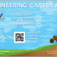 Comprehensive virtual binder developed to help engineering students prepare for the career fair.