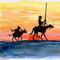 Dos d��as en ruta con don Quijote desde Madrid