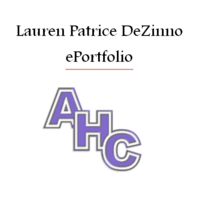 Lauren Patrice DeZinno's ePortfolio: Academy of the Holy Cross