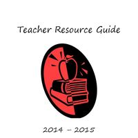 Teacher Resource Binder