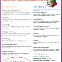 ELA Professional Development Kits