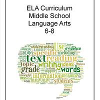 ELA Middle School Curriculum