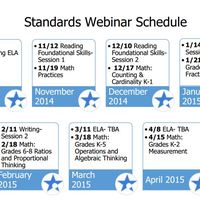 Webinar Schedule 2014-15