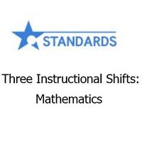 Three Instructional Shifts; Mathematics