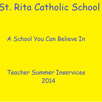 Teacher Summer Inservices