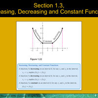 1.2 Analyze Graphs of Functions