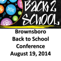 Copy of Brownsboro Back to School Conference
