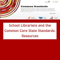 School Librarians and the Common Core Standards: Resources