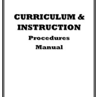 C&I Department Manual