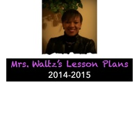 Mrs. Waltz's Lesson Plan Book