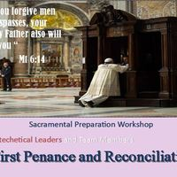 First Reconciliation and Penance