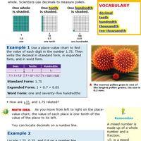 Decimals read write compare